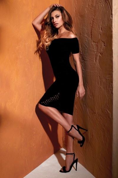 Sophisticated black dress