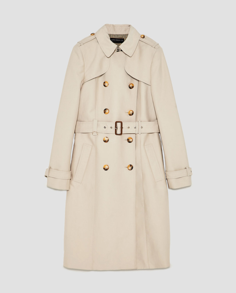 Trench coat is ideal for any occasion