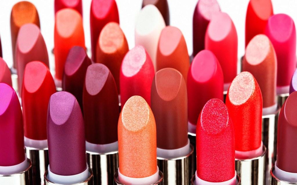 Lipstick in different colour